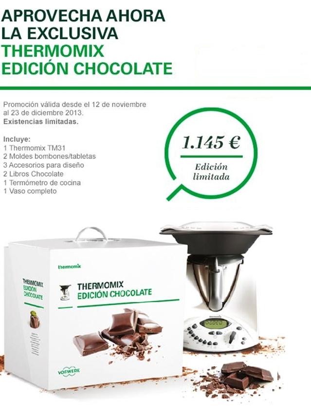 Thermomix® EDICIÓN CHOCOLATE