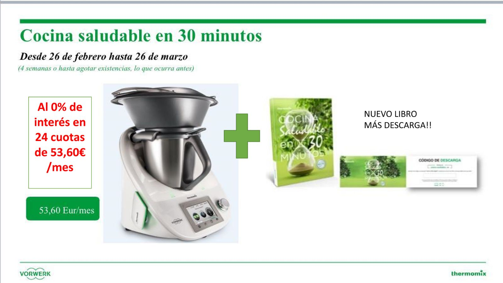 Thermomix® SIN INTERESES 0