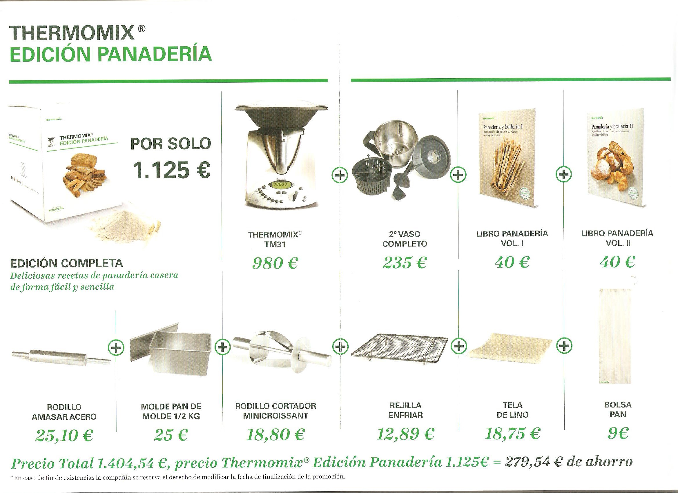 Promoción Thermomix® Edición Panadería