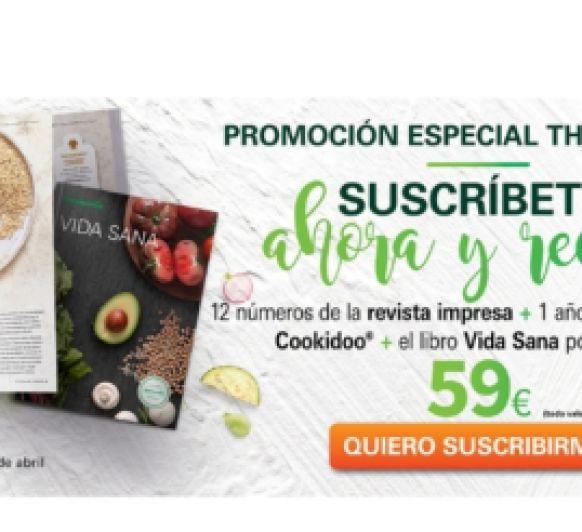 Suscripción Cookidoo, Revista y libro por 59€