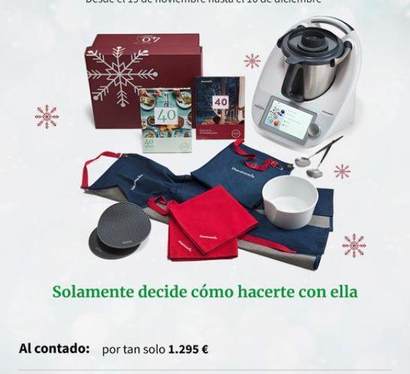 Estas Navidades pon una Thermomix® en tu vida!!