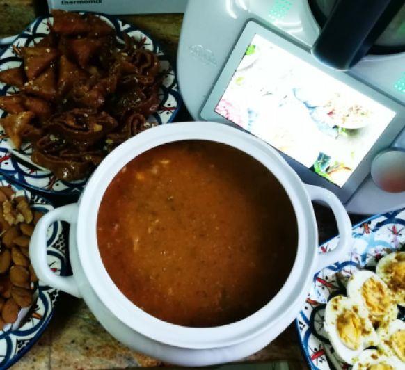 Sopa marroquí ''Harira''