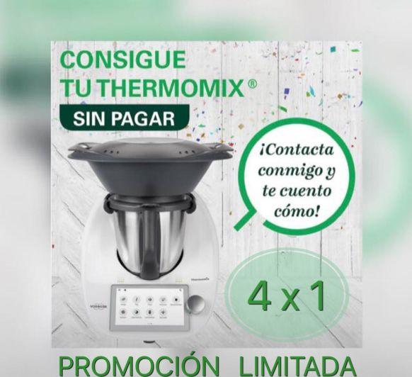 Thermomix® Tm6 GRATIS!! Aprovecha el momento