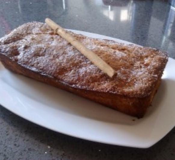 Receta de Plum-cake de manzana con cerveza con Thermomix®