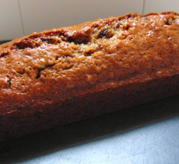 Cake de dátiles, nueces y manzana. Sin gluten COOKIDOO