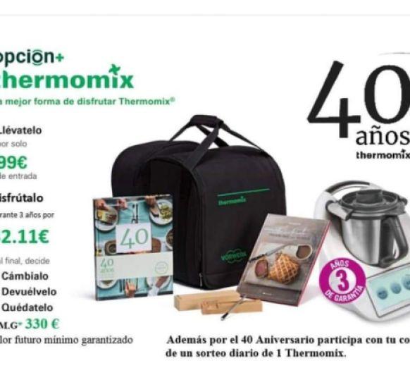 40 años con Thermomix® !!!