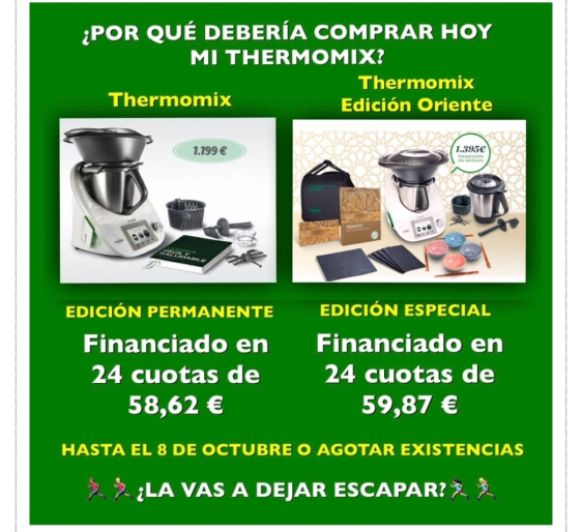 EL 0% SE ACABA!!! EDICIÓN ORIENTE DE Thermomix®