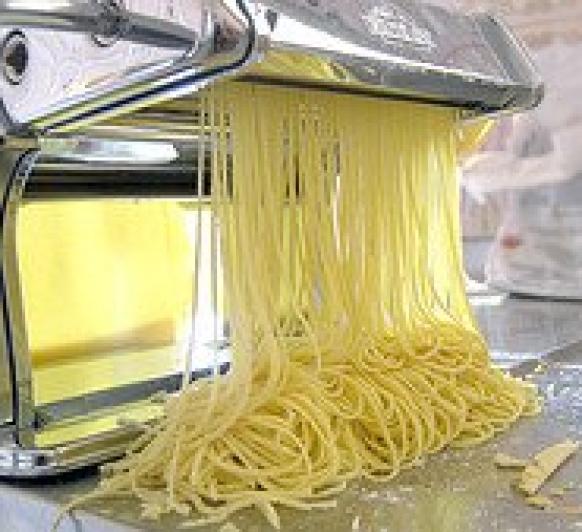 Pasta fresca sin gluten, con Thermomix® .