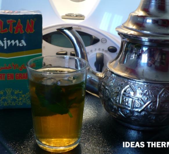Receta Té verde de hierbabuena con Thermomix®