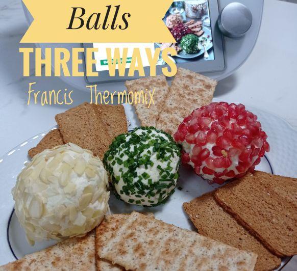 Cheese Balls Three Ways