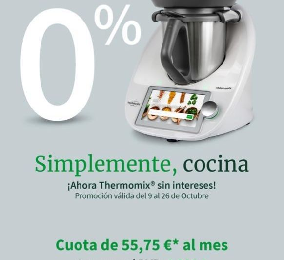 Thermomix® 0% DE INTERES