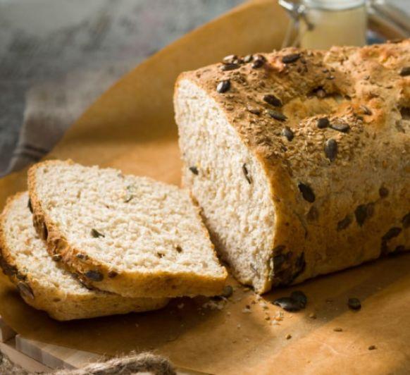 Pan disociado con kéfir, harina integral y semillas con Thermomix®