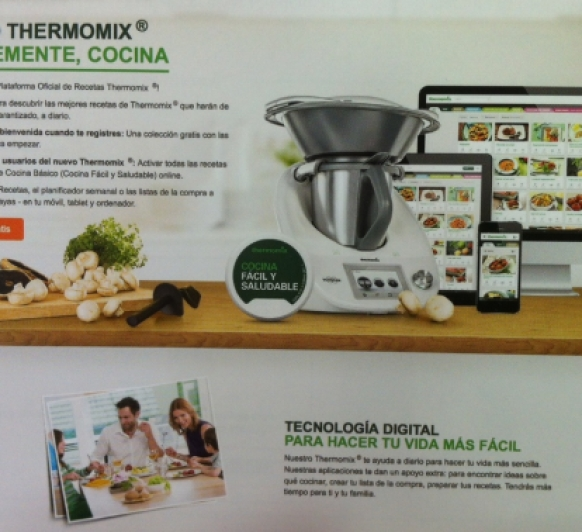 Plataforma oficial de recetas thermomix