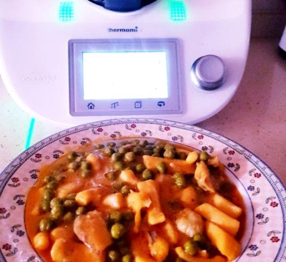 Jibia en salsa