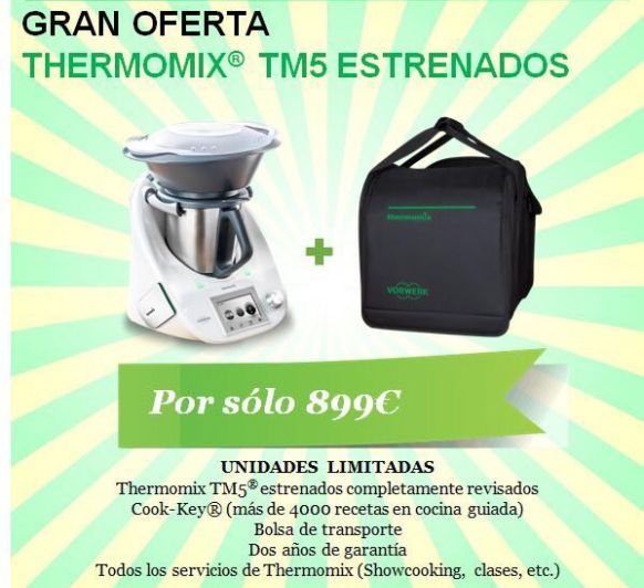 Thermomix® TM5 KM0 POR 899€