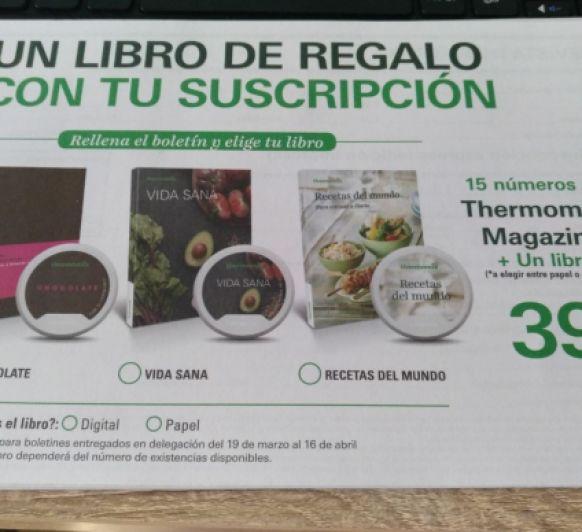 Libro gratis con tu suscripción a la revista.